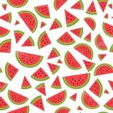 Watermeloenpatroon Royalty-vrije Stock Afbeeldingen