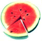 Watermeloenpictogram Stock Afbeelding