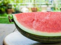 Watermeloenplak Stock Foto's