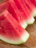 Watermeloenplakken Stock Afbeeldingen