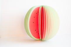 Watermeloenplakken Royalty-vrije Stock Foto's