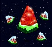 Watermeloenvorst Stock Afbeeldingen