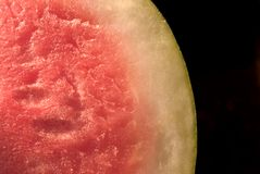 Watermelon. A detail of a fresh watermelon Stock Images