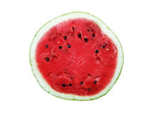 Watermelon. Half of watermelon, isolated on white background Royalty Free Stock Photo
