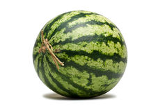 Watermelon. Watermelon on a white background Stock Image