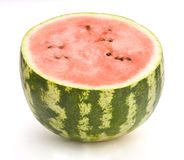 Watermelon. Slice isolated on white Stock Images