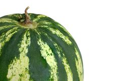 Watermelon. Isolated on a white background Royalty Free Stock Images