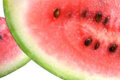 Watermelon. Isolated on a white background royalty free stock photography