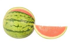 Watermelon. Fresh sliced piece of watermelon Royalty Free Stock Photo
