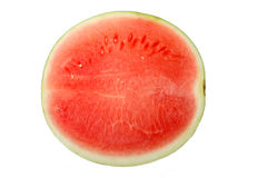 Watermelon. Appetizing slices of watermelon on white background Stock Images