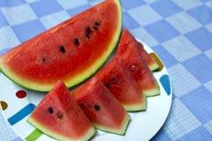 Watermelon. Fresh cut juicy red watermelon Royalty Free Stock Image
