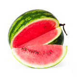 Watermelon. Isolated on white background Royalty Free Stock Photos