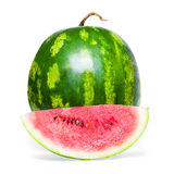 Watermelon. On white background Stock Photography