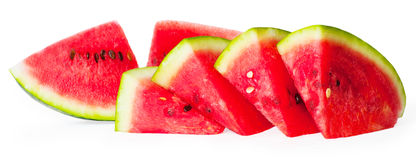 Watermelon. Isolated on white background Royalty Free Stock Photography