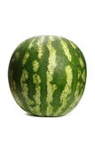 Watermelon. Isolated on white background stock photography