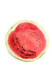 Watermelon. Piece isolated on white background Stock Photos