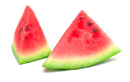 Watermelon 4. Watermelon on the white. Isolation Stock Image