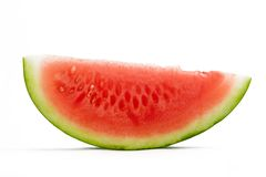 Watermelon. On white background Royalty Free Stock Photography