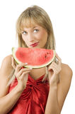 The watermelon Stock Image