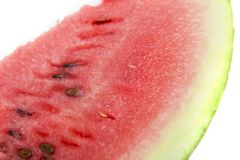 Watermelon. On a white background Royalty Free Stock Photography