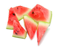 Watermelon. On the white. Isolation Royalty Free Stock Images