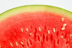 Watermelon. Close up of a big watermelon Royalty Free Stock Photography