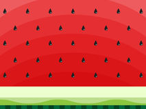 Watermelon abstract background with black seeds. Concept of Hello Summer. Fruit background, vector illustration. Watermelon abstract background with black seeds vector illustration