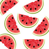 Watermelon background isolated Stock Photography