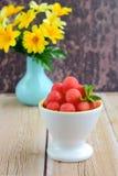 Watermelon balls Stock Photos