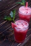 Watermelon Bloody Marys Stock Photography