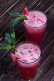 Watermelon Bloody Marys Stock Photo