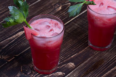 Watermelon Bloody Marys Stock Image