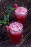 Watermelon Bloody Marys Stock Photos