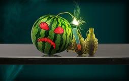 Watermelon Bomb Royalty Free Stock Photo