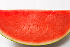 Watermelon bright red Stock Image