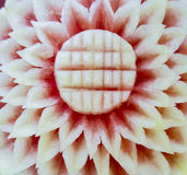 Watermelon carvings Stock Image