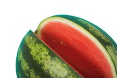 Watermelon, clipping path Stock Photography