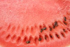 Watermelon close up Stock Photo