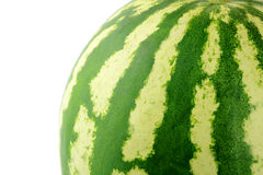 The Watermelon close up Stock Photography