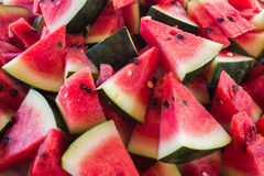 Watermelon. Close-up of fresh slices of red watermelon Royalty Free Stock Photography