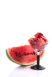 Watermelon Cocktail Stock Photos