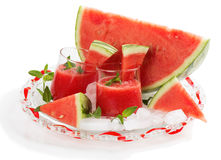 Watermelon cocktail Stock Image