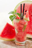 Watermelon cocktail Royalty Free Stock Photo