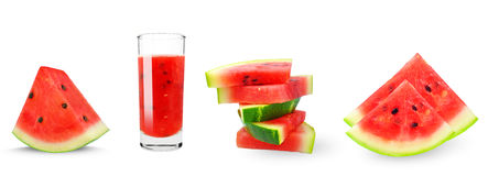 Watermelon collage Stock Photography