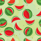 Watermelon colorful seamless Royalty Free Stock Image