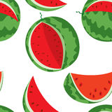 Watermelon colorful seamless. Background with colorful watermelons  (seamless Stock Photos