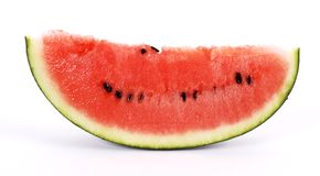 Watermelon cut Stock Images