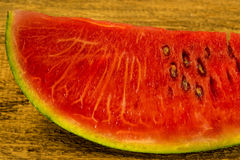 Watermelon cut Stock Image