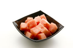 Watermelon cut into pieces Royalty Free Stock Photography