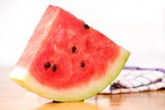 Watermelon delicious cut food dessert Stock Photo